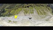翼装飞行大师穿越大峡谷 贴壁高速飞行俯瞰群峰
