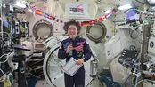 #AskNASA 克里斯蒂娜·科赫┃ 在太空中生活一年是什么感觉?
