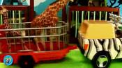 益智玩具、小狗熊快乐的家园-_长脖子鹿-_小猴子-_各种动物儿童玩具