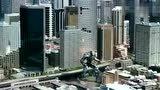 《环太平洋:雷霆再起》两个大型机甲在城市里大战,真是大饱眼福
