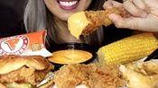 【moxie beast】助眠爆米花鸡肉三明治和炸鸡w奶酪酱、玉米、苹果派*不许说话(2019年12月12日4时8分)