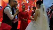 新郎:雷寅亮 与 新娘:金晔结婚典礼仪式 在(百合兰亭举行)2018.10.03
