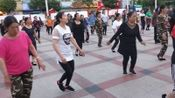金阳县天地坝文化站广场舞20l8年5月10日凉山之舞2