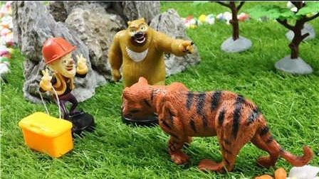 【有趣的冒险 下集】狗狗巡逻队熊出没小猪佩奇托马斯小火车亲子故事