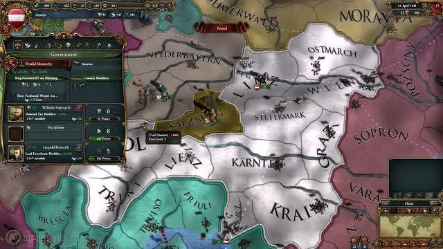 《欧陆风云4》,烧脑向策略游戏,玩的不是游戏,而是战争!