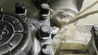 宁波阀块堵头厂家实拍视频采用全数控车削_保证精度