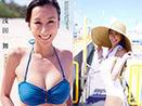 日本花滑浅田舞性感写真 前挺后撅凸显F罩杯