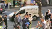 高云翔案正式庭审,灰色西装发型精致,身形消瘦很多仍未见董璇