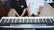 【钢琴】D大调卡农超唯美改编四手版,与粉丝合作卡农