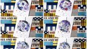 【年年的手帐】拼贴128.0「白河夜船」音乐播放器白卡(11x17.5cm)