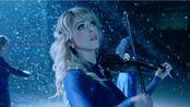 【音乐】小提琴曲《卡罗尔的钟声》,由小提琴家Lindsey Stirling演奏,悠扬的琴声衬着纷飞的雪花,真的太美了!你的城市下雪了吗?