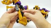 变形金刚_建设装备汽车玩具_黄锦江构造汽车机器人变身玩具卡车玩具【俊和他的玩具们_2