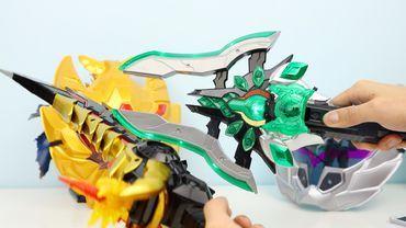 铠甲勇士捕王 战帅铠甲 超磁湮灭戟 武器面具玩具 铠甲勇士捕将