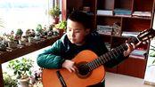胶南阳光吉他 闫宁 《友谊地久天长》