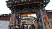 香格里拉:红军入藏,藏族活佛布达拉宫接见,好宏伟的宫殿