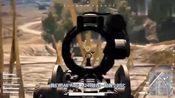绝地求生:M249上装15倍镜,队友骂他是zz,3秒后他们沉默了!