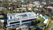 洛杉矶第三大豪宅普利兹克庄园外景航拍