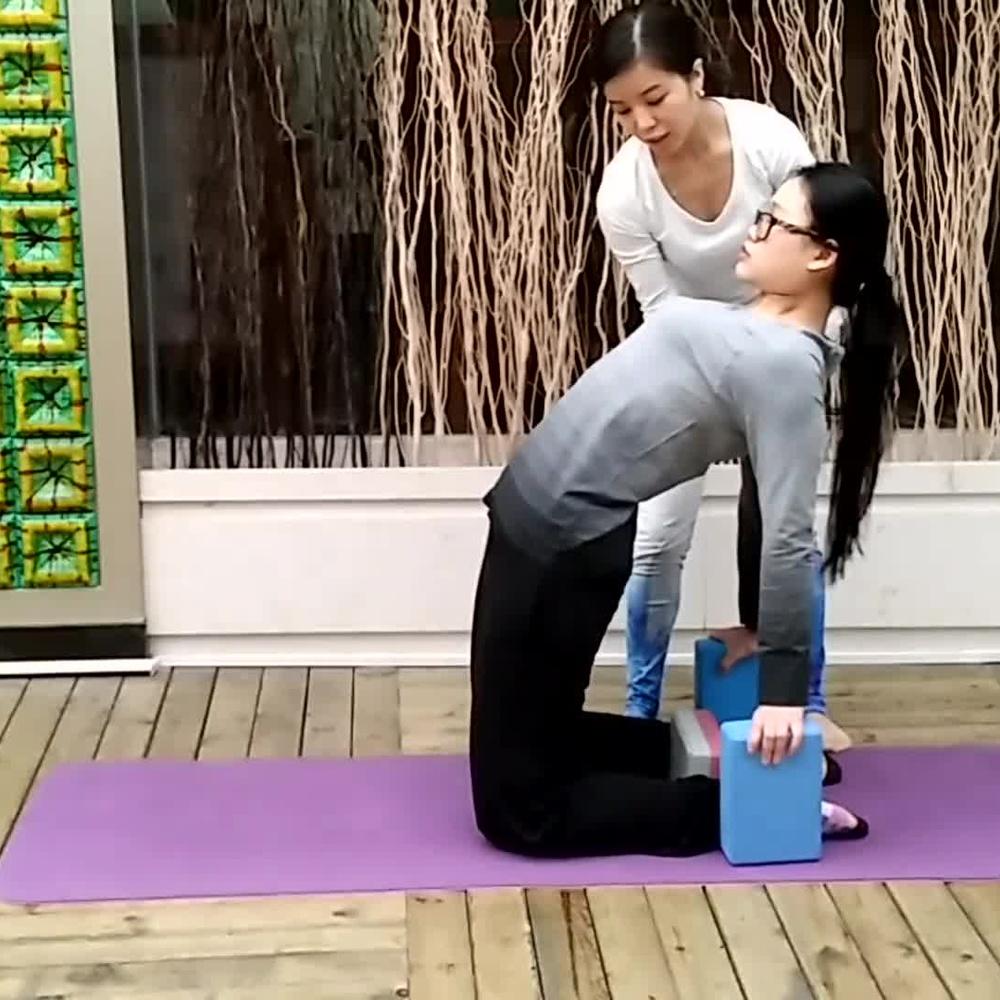 瑜伽视频教程,瑜伽美女教