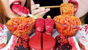 【kim&liz】红色天鹅绒蛋糕条、辣火面、百日咳派、冰淇淋、果冻、冰激凌、金丽兹(2019年8月7日22时48分)