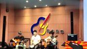 山东临沂阳光吉他学校,正在排练夜来香双吉他与手鼓!