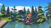 熊出没:嘟嘟很喜欢熊二,一直追这狗熊,一脸不放弃