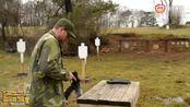 """13梭弹夹,700颗子弹,步枪射击""""临界点""""爆裂枪膛"""