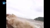 灿鸿台风路径实时发布系统 温台等地紧急疏散景区游客 转移地质灾害点群众