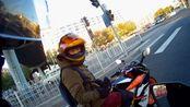 【kawasakiZ650 Moto Vlog】42#日常骑摩托车晚上眼神儿就不好,慢点没毛病