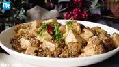 正宗的四川风味麻婆豆腐 在家也可以做