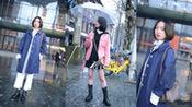 武汉街头实拍,最后一位小姐姐的粉色外套求链接!