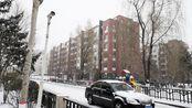 2019年11月12日,哈尔滨下雪了,白茫茫的,带你看看北方的雪景