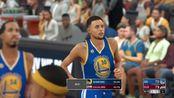 NBA 2K17 模拟勇士 VS (韦德加盟后的)骑士 (第三节)