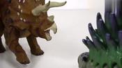 英雄玩具 益智类儿童玩具变形金刚汽车玩具 恐龙玩具