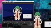 Live2DViewerEX 虚拟摄像头 / 鼠标追踪 / iOS面部捕捉演示