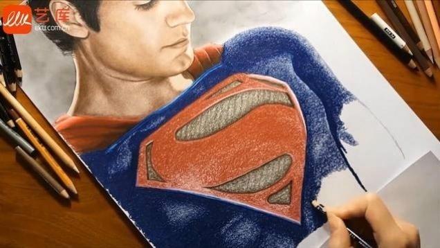 艺库视频 - 手绘超人_亨利卡维尔_贾米娜·苏萨克