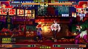 拳皇97:夜枫的八神的连续的跑抓,将对手的心态完全打乱了