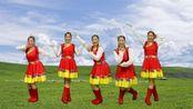 民族风格广场舞《青藏女孩》舞姿优美,送给广场舞爱好者!