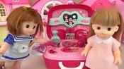宝宝化妆箱玩具,喷香水 带蝴蝶结发箍 真好玩