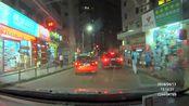 凌度行车记录仪 安霸A7方案夜晚实拍效果