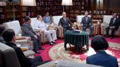 外交风云:领袖接见日本领导人,说起敏锐话题,很是生气!