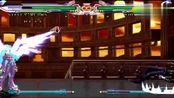 拳皇mugen 大蛇之血库拉对战六翼K,最后一击太炫酷
