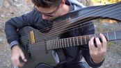 碳纤维竖琴吉他指弹 Fade to Black - (Metallica) By Jamie Dupuis