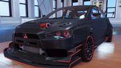 """飙酷车神2 """"Rising Sun""""峰会奖励 Mitsubishi Lancer EVOLUTION X Red Fury Edition 试驾"""