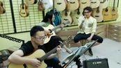 天津商业大学 斯黛拉乐队 民谣吉他弹唱 曾经的你 小p吉他