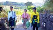 漫游记:秦岚和郭麒麟爬台阶累惨,钟汉良拿手机疯狂拍照