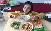 自制炸鸡加教程604【处女座的吃货】中国吃播,国内吃播,素素投稿吃出个未来·吃饭直播,大吃货爱美食,大胃王,减肥,美食人生,吃饭秀