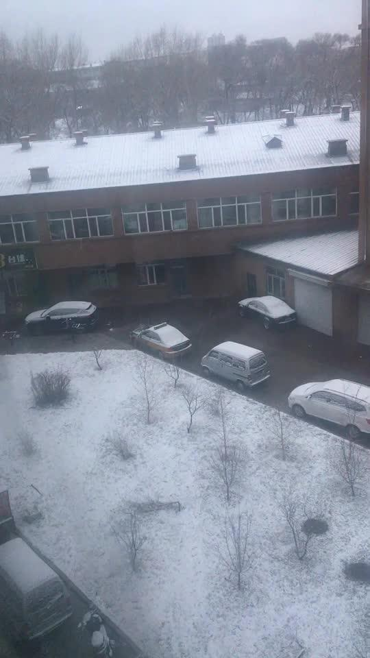 2017年第一场雪