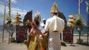 巴厘岛美乐滋度假酒店的私家沙滩婚礼
