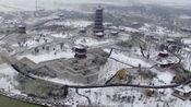 2016灵璧初雪航拍视频