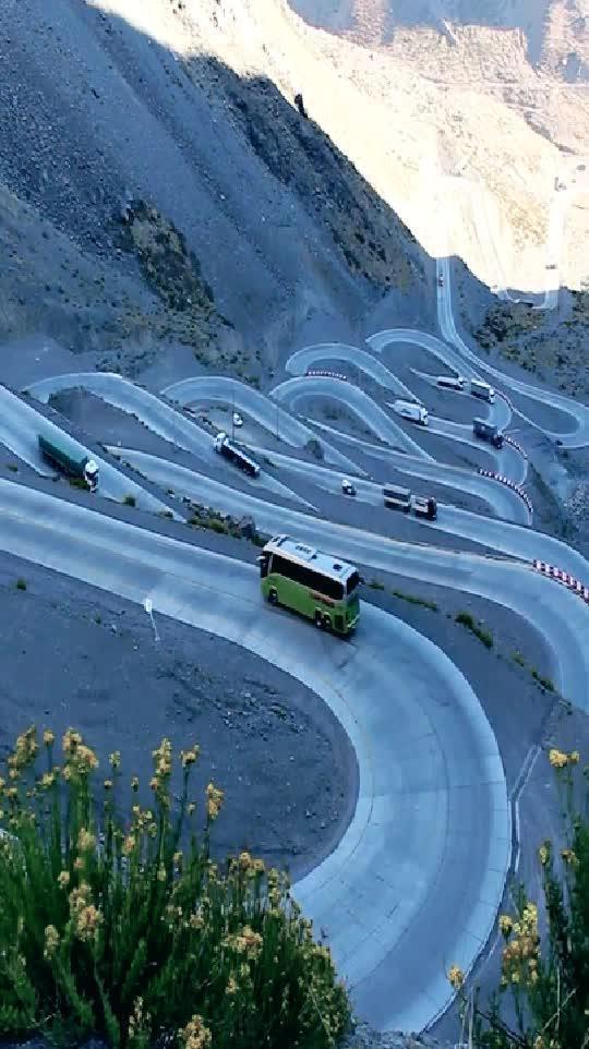 如此山路,客货司机的噩梦